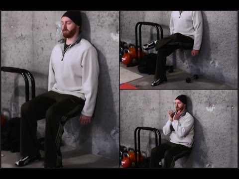 Wall Sits: 3 Technique Tips and 5 Progressions (Easy & Hard)