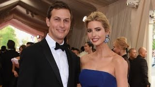 Kushner and Ivanka Trump benefiting from business empire
