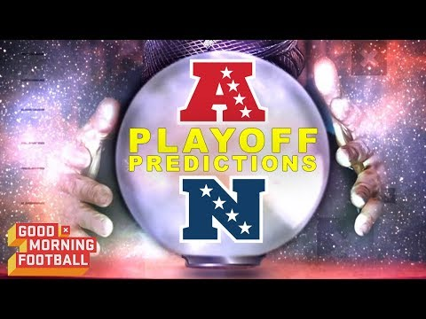 2018 Playoff Predictions | Good Morning Football | NFL Network