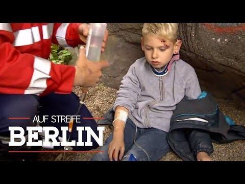 Wo ist der Rettungswagen mit dem verletzten Jungen (6) hin?   Auf Streife - Berlin   SAT.1 TV