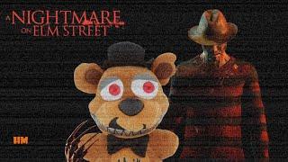 Fnaf Plush  Nightmare on Elm Street
