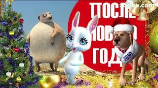 Зайка ZOOBE 'Отгуляли Новый Год!'