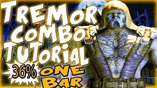 Mortal Kombat X TREMOR COMBOS - CRYSTALLINE TREMOR COMBO TUTORIAL!