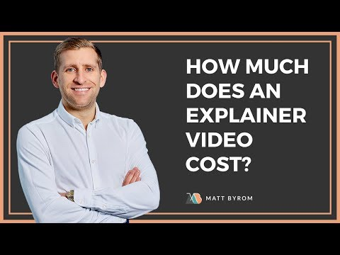 Answered! How Much Does An Explainer Video Cost?
