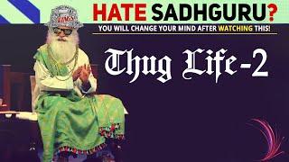 Sadhguru ULTIMATE Spontaneity 👌TIGHT SLAPS to Librandus | Thug Life🤙
