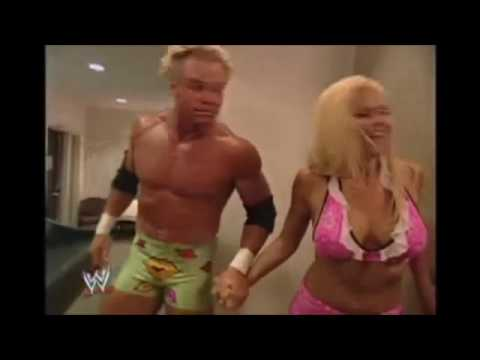 Torrie Wilson And Billy Gunn Backstage