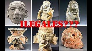 Es LEGAL Buscar o Poseer Piezas PREHISPANICAS Arqueologicas?