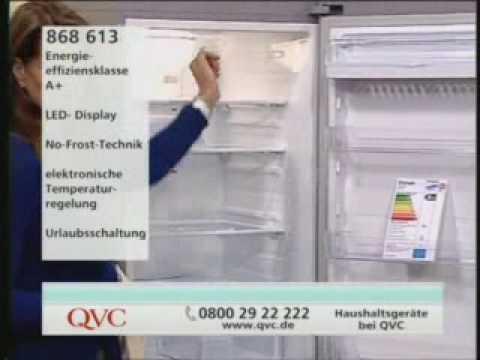 Qvc Side By Side Kühlschrank : Qvc samsung kuehlschrank mit petra youtube