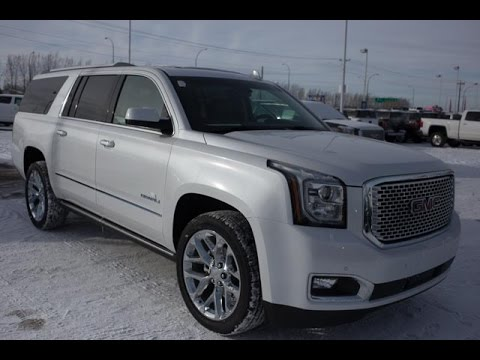 brand new 2016 gmc yukon xl denali for sale in medicine hat ab youtube. Black Bedroom Furniture Sets. Home Design Ideas