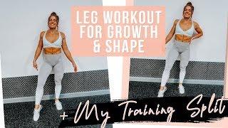 Best Leg Workout For GROWTH | + MY TRAINING SPLIT