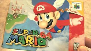 SUPER MARIO 64 Packaging Review by Classic Game Room
