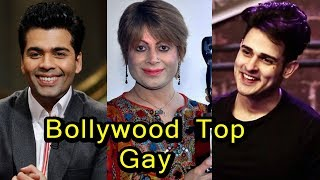 9 Bollywood's Popular gay and rumoured to be gay celebrities