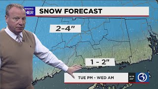FORECAST: Winter weather advisory issued for the entire state
