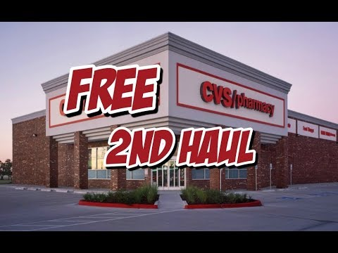 FREE 2nd Haul at CVS // Got Back $21 ECB // Shop with Sarah
