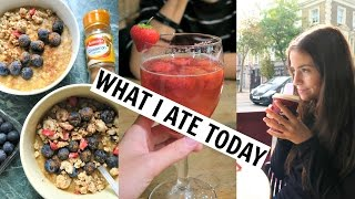 LONDON What I Ate/Did Today! Travel Vlog