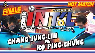 HOT MATCH FINALS: CHANG Jung-Lin vs. KO Ping-Chung - 2018 INTERNATIONAL 9-BALL OPEN FINALS