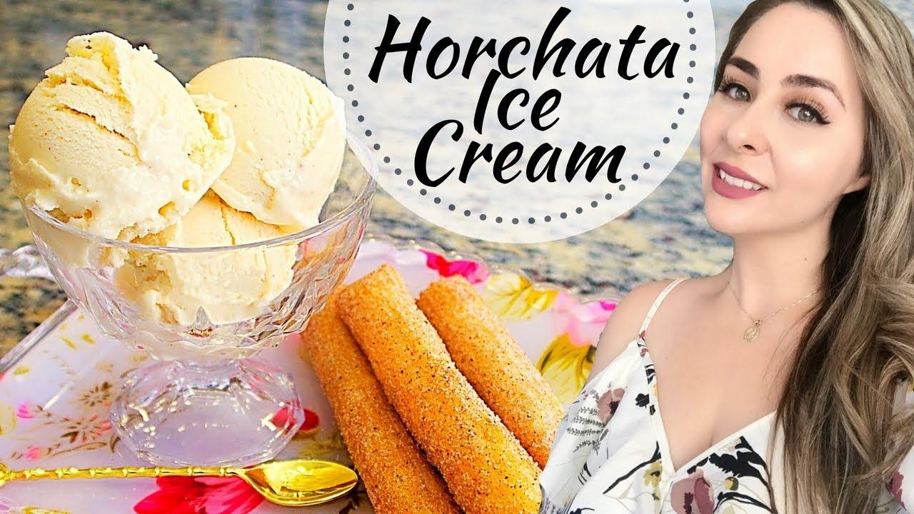 Easy horchata ice cream recipe