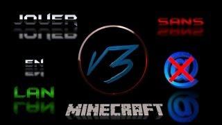 Minecraft Tuto - Jouer en LAN SANS INTERNET !