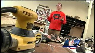 Biddeford Man Turns Reclaimed Wood Into Home Decor