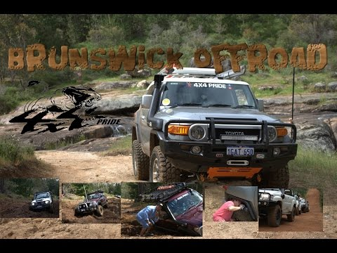 Fun Mud Offroading at Brunswick hills WA