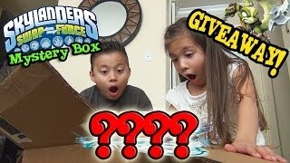 Skylanders Swap Force MYSTERY BOX from Activision, UNBOXING & GIVEAWAY!!!  WAVE 4???