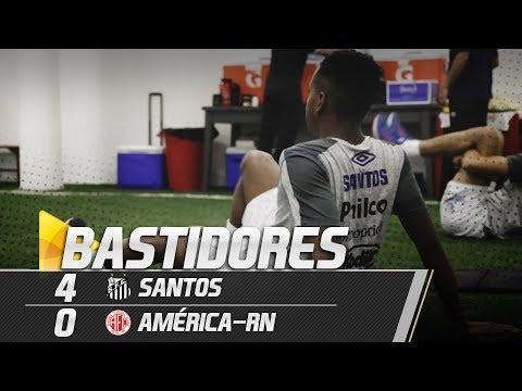 Santos 4 x 0 América-RN | BASTIDORES | Copa do Brasil (07/03/19)