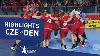 Highlights | Czech Republic vs Denmark | Men's EHF EURO 2018