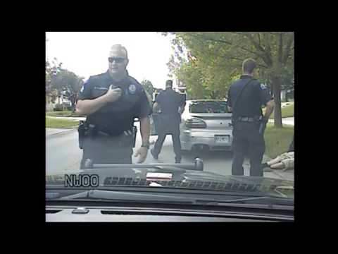 Dashcam Video Shows Police Tasing that Put Missouri Teen Into Cardiac Arrest  (full version)