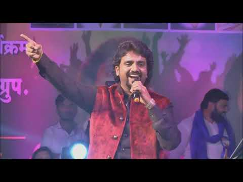 Adarsh Shinde one of the finest show live concert at beed