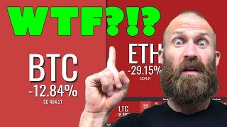 Why are Bitcoin & Crypto Prices Crashing???  WTF?!?