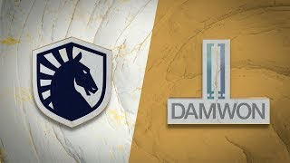 TL vs DWG | Worlds Group Stage Day 8 | Team Liquid vs DAMWON Gaming (2019)