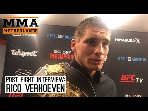 "Rico Verhoeven: ""In march 2018 im not gonna fight Badr Hari''"