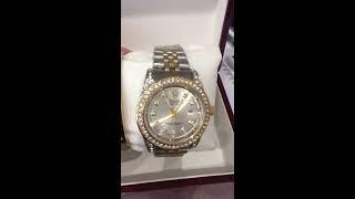 Женский набор в стиле Rolex отличного качества часы и браслет