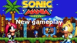 New gameplay of Sonic Mania Plus