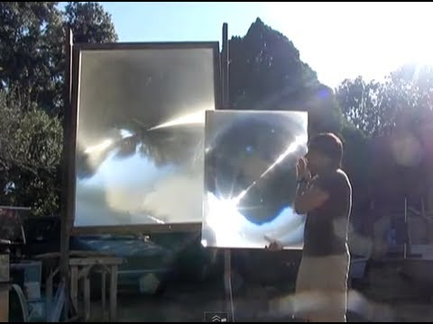 Fresnel Lens Solar magnifying glass for optical scorcher