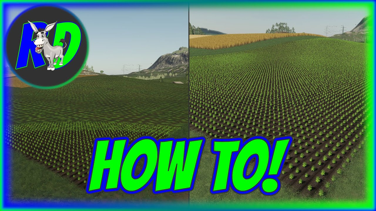 Download FS19 How To Remove The View Distance Circle
