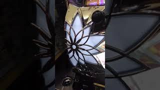 花ランプ波紋