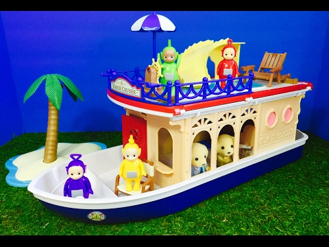 TELETUBBIES Toys CALICO Critters Seaside Cruiser Boat