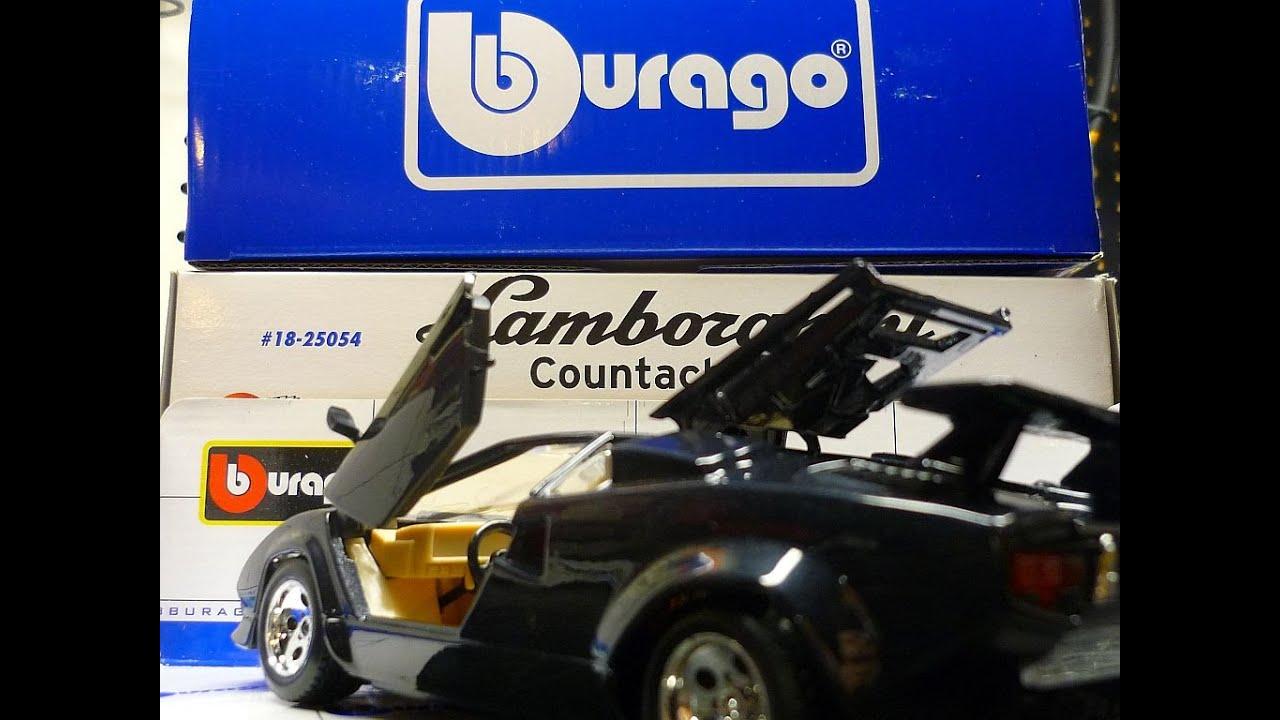 Bburago Lamborghini Countach Model Kit Youtube