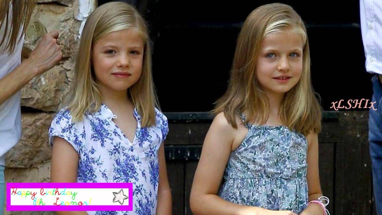 Happy 8th Birthday, Infanta Leonor! ♥ - YouTube