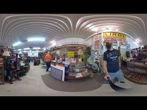 RyanTheAnvil Visits The Fisher Norris Anvil Museum - 360 Video Part 1