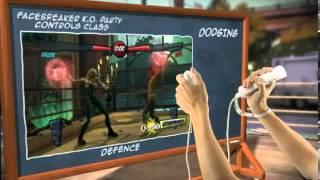 FaceBreaker K.O. Party - Defense controls