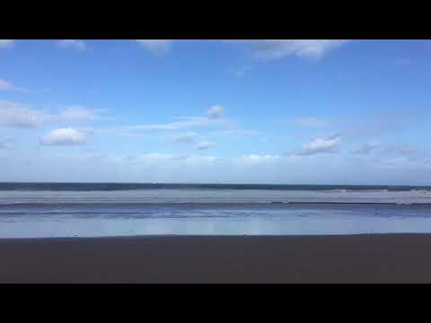 Oleaje en la costa cantábrica