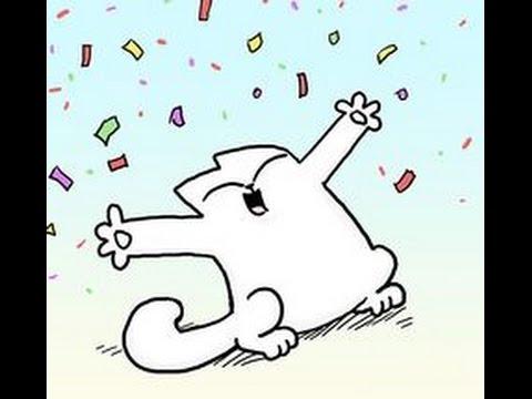 Кот Саймона. картинки с Днем Рождения #celebration