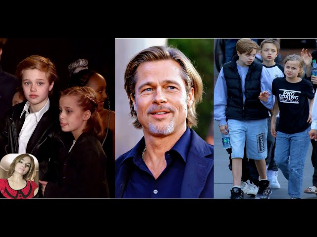 ★Brad Pitt Will \'Spend Christmas Eve With Shiloh, Knox and Vivienne Without a monitor\'