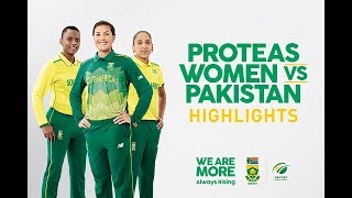 (Highlights) South Africa vs Pakistan 3rd Women's ODI