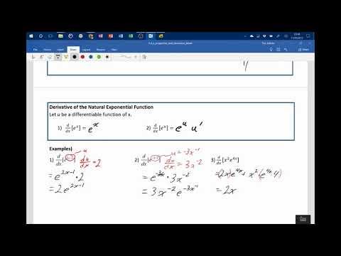 5 4 e properties and derivative final