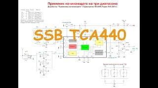 SSB Приемник на К174ХА2 или TCA440