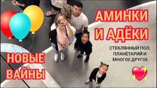 Вайны Аминокки и Адеки! Самое новое! Ржака! 😄 и ВЛОГ: EXPO 2017. Aminokka's NEW VINES. Sweet sisters