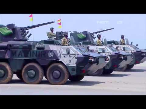 Net. TV - Indonesia Military Parade 2017 - Full Military Assets Segment!